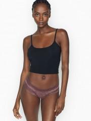 VS sexy krajkové brazilské kalhotky fialové