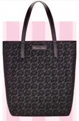 Victorias Secret černá koženková taška přes rameno