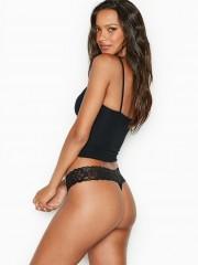 Černá pohodlná tanga Victorias Secret