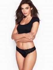 Černá luxusní tanga Victorias Secret