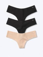 VS PINK multipack tangových kalhotek bezešvých