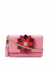 Růžová kabelka Victorias Secret s řetízkovým popruhem