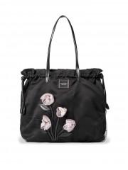 Stylová černá taška Gardenia Tote