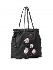 Victorias Secret módní taška s květinovou dekorací