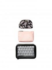 Set tří kosmetických tašek Victorias Secret