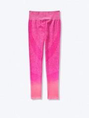VS PINK pohodlné růžové bezešvé sportovní leginy