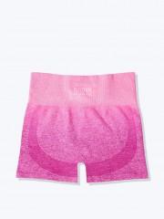 Růžové sportovní bezešvé šortky