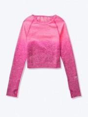 VS PINK bezešvý sportovní top růžový