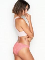 VS luxusní krajkové kalhotky růžové