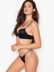 Victorias Secret hladké kalhotky s kamínky na bocích