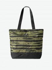 VS PINK zelenočerná taška se zapínáním na zip