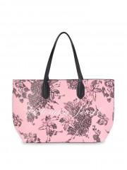 Victorias Secret růžová taška s květinovým postiskem
