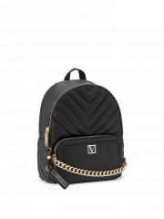 Victorias Secret černý luxusní batůžek