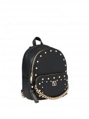 Victorias Secret černý batůžek se zlatými detaily