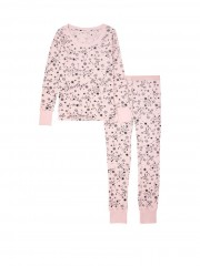 Pohodlné růžové pyžamo Victorias Secret