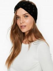 Zimní pletená čelenka Victorias Secret