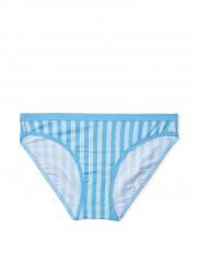 Victorias Secret modré proužkované kalhotky
