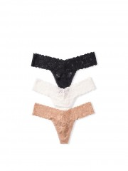 Victorias Secret multipack krajkových tang