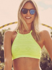 Seamless Bralette Tequila Lime