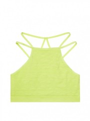 Seamless Bralette Tequila Lime detail