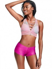 Krajková podprsenka Bralette Victorias Secret Pink
