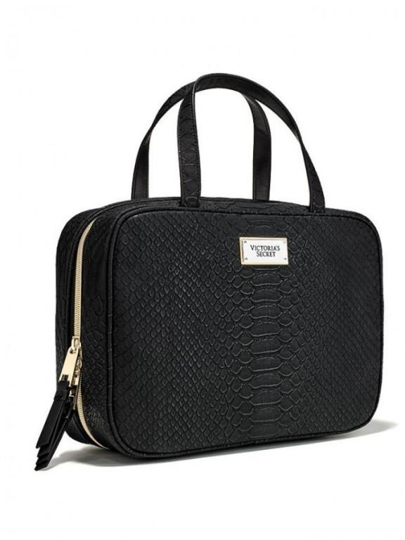 Velký kosmetický kufřík Victoria's Secret černý