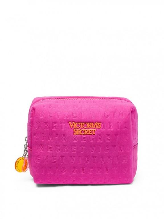 Růžová kosmetická taštička Medium Beauty Bag růžová