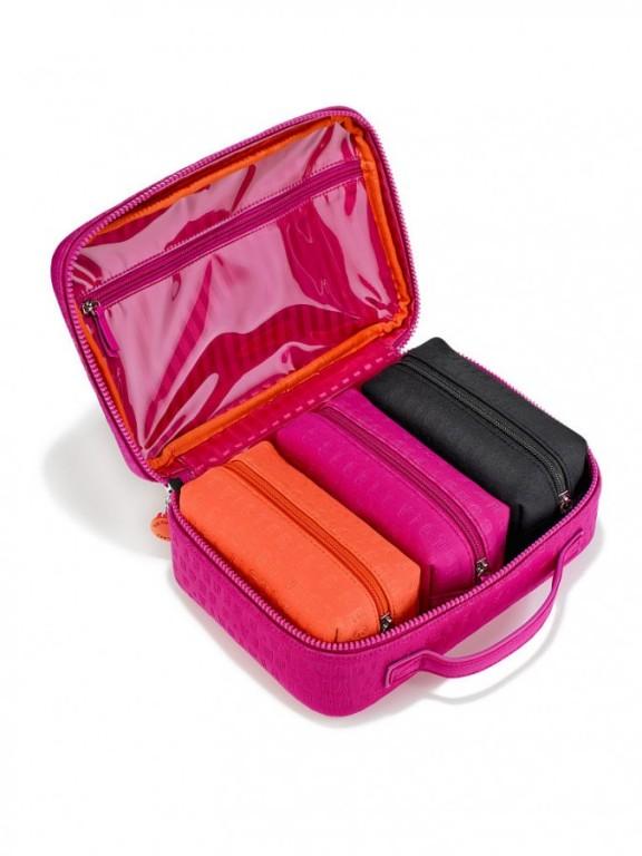 Set čtyř kosmetických taštiček Victoria's Secret Beauty Bag Travel Case