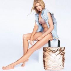 Victorias Secret taška růžové zlato
