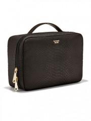 Černý kosmetický kufřík + 3 malé taštičky