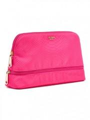 Růžová kosmetická taška Python Glam Bag