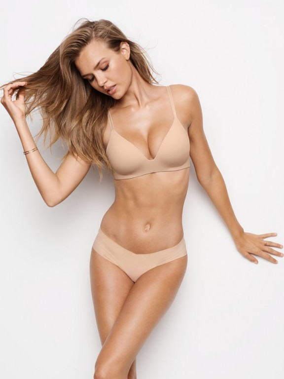 Victoria's Secret podprsenka bez kostic Lightly Lined Wireless Bra tělová