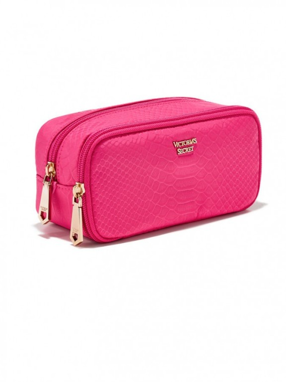 Kosmetická taštička Python On-The-Go Beauty Bag růžová