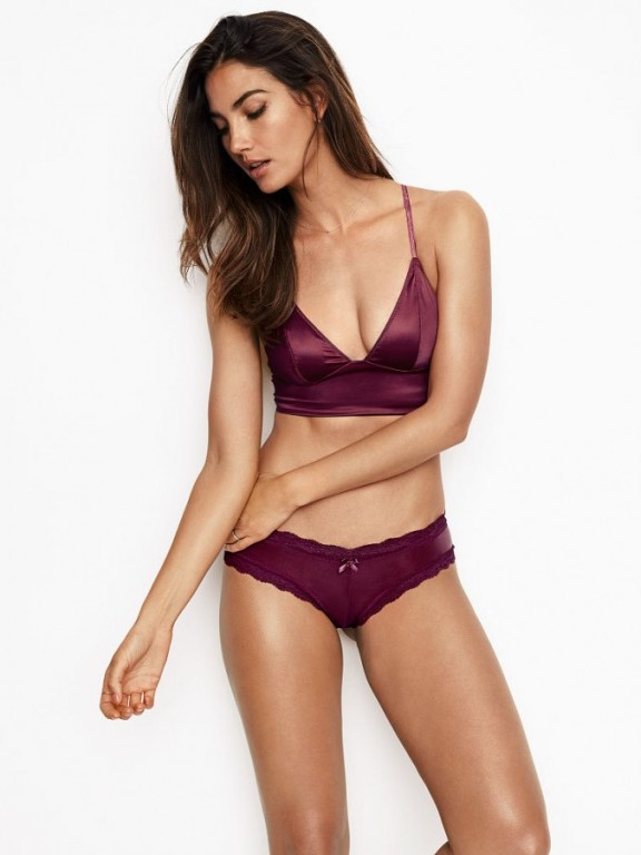 Luxusní sexy brazilské kalhotky Lace-up Cheeky Panty