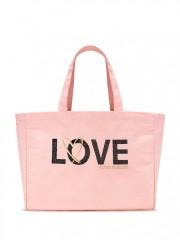 Victorias Secret taška LOVE růžová