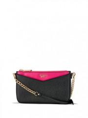 Luxusní kabelka Crossbody Victorias Secret černá