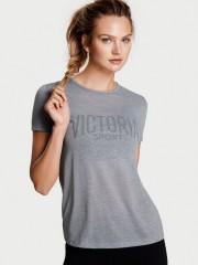 Victoria Sport šedé triko