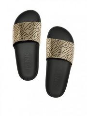 Pantofle Victorias Secret PINK se zlatým páskem