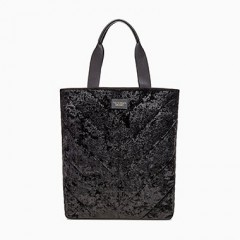 Černá sametová taška Victorias Secret