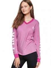 Růžové triko s dlouhým rukávem VS PINK