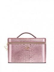 Pevný kosmetický kufřík Victorias Secret růžový