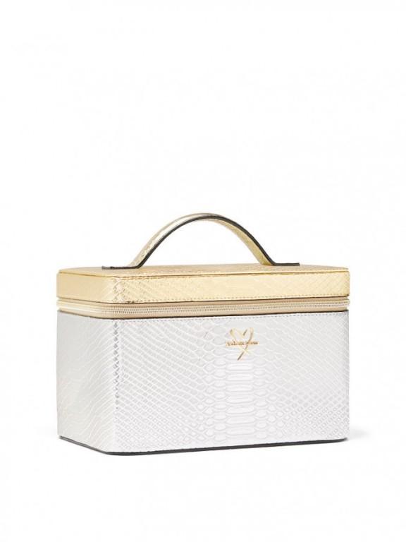 Luxusní kosmetický kufřík Luxe Python Runway Vanity Case