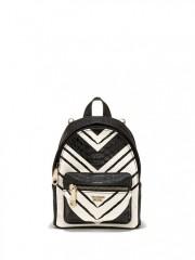 Luxusní batůžek Victorias Secret černobílý