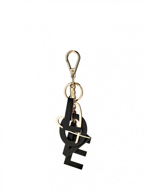 Přívěsek Victoria's Secret Charmed Love Keychain černý
