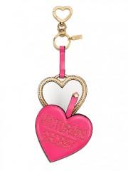 Přívěsek na tašku či klíče s umělohmotným zrcátkem
