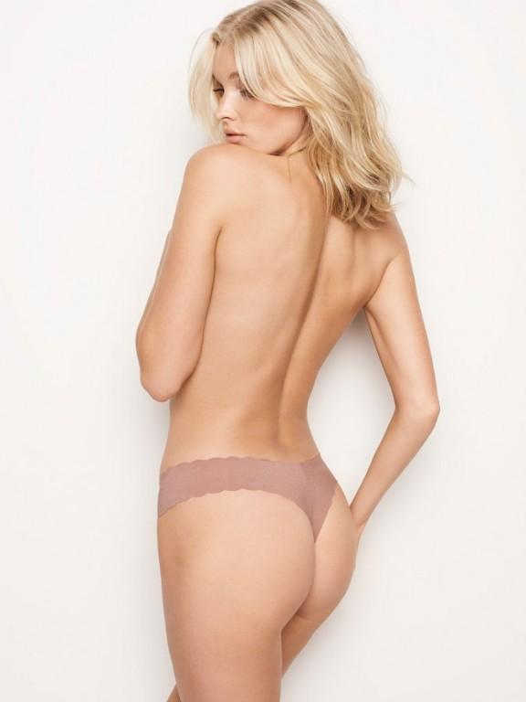 Bezešvá sexy tanga Raw Cut Thong Panty