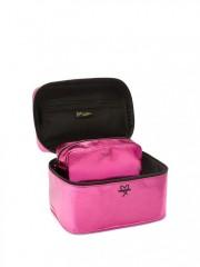 Duo kosmetických taštiček Bombshell Pink