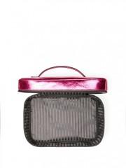 Kosmetický kufřík s taštičkou Metallic Crackle
