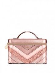 Luxusní kufřík Vanity Case růžový