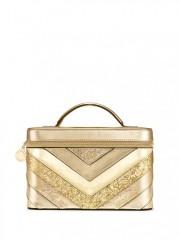 Zlatý kosmetický kufřík Vanity Case